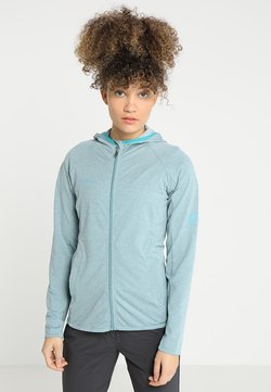 Mammut - NAIR ML HOODED JACKET WOMEN - Fleecejacke - waters