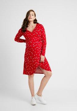 Noppies - DRESS NURSING ZAYNA - Trikoomekko - tango red