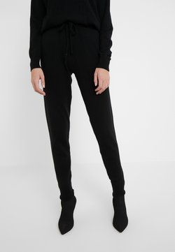 Davida Cashmere - PANTS POCKETS - Jogginghose - black