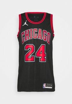 Nike Performance - NBA CHICAGO BULLS LAURI MARKKANEN SWINGMAN - Pelipaita - black/markkanen lauri