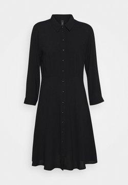 YAS - YASSAVANNA DRESS - Vestido camisero - black