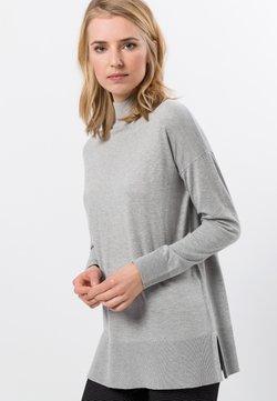 zero - Strickpullover - stone grey