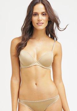 Calvin Klein Underwear - SEDUCTIVE COMFORT CUSTOMIZED LIFT - Push-up BH - dune