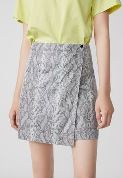 LILY - Jupe portefeuille - smoky gray
