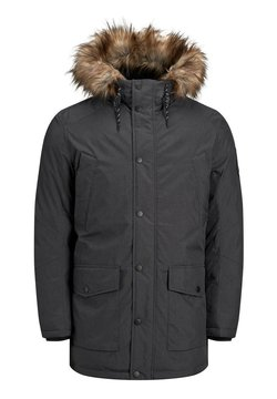 Jack & Jones - JJSKY JACKET - Wintermantel - dark grey melange