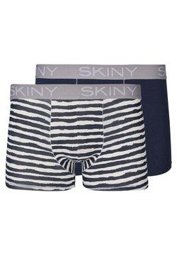 Skiny - 2 PACK - Boxershorts - grey