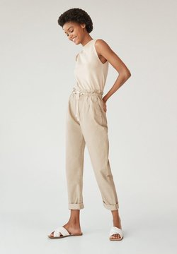 Mango - LOOSE - Jeans Relaxed Fit - beige