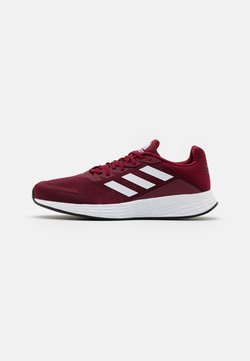 adidas Performance - DURAMO - Zapatillas de running neutras - collegiate burgundy/footwear white/core black