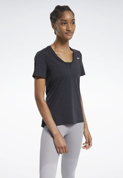 Reebok - ACTIVCHILL ATHLETIC T-SHIRT - Funktionsshirt - black