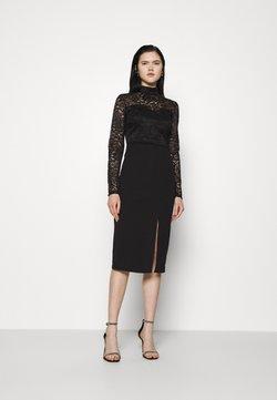 WAL G. - HIGH NECK DRESS - Cocktailkleid/festliches Kleid - black