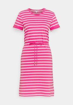 Tommy Hilfiger - COOL SHIFT SHORT DRESS  - Jerseykleid - pink
