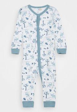 Joha - JUMPSUIT UNISEX - Pyjama - light blue/offwhite