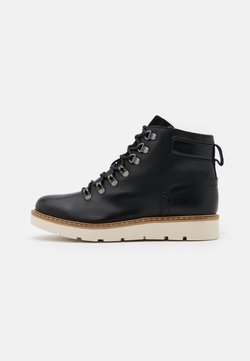 Vero Moda Wide Fit - VMMARY BOOT WIDE FIT - Plateaustiefelette - black
