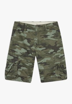 GAP - BOY - Reisitaskuhousut - green camo
