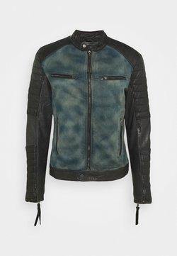 Be Edgy - ANDY  - Leather jacket - indigo