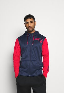 Nike Performance - NFL NEW ENGLAND PATRIOTS LEFT CHEST MASCOT FULL ZIP - Squadra - college navy/ university red