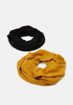 Anna Field - 2 PACK - Schlauchschal - mustard yellow/black