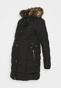 New Look Maternity - LONGLINE BELT TRIM PUFFER - Abrigo de invierno - black