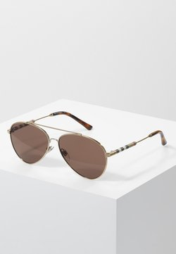 Burberry - Sonnenbrille - gold-coloured/brown