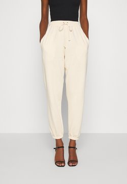 Missguided - OVERSIZED JOGGER - Jogginghose - cream