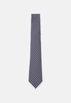 Pier One - Krawatte - dark blue/bordeaux
