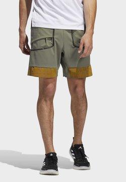 adidas Performance - HEAT.RDY PRIME SHORTS - Pantalón corto de deporte - green