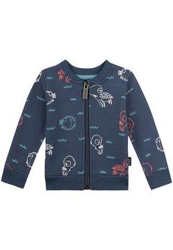 Sanetta Kidswear - Hoodie met rits - blau