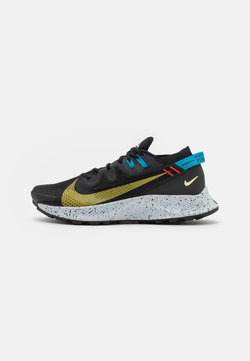 Nike Performance - PEGASUS TRAIL 2 - Zapatillas de trail running - black/dark sulfur/off noir/chile red/laser blue/limelight