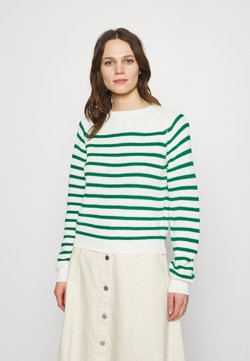 Soft Rebels - TAMMY O NECK  - Strickpullover - lush meadow
