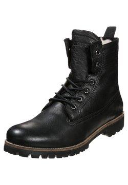 Blackstone - Schnürstiefelette - black