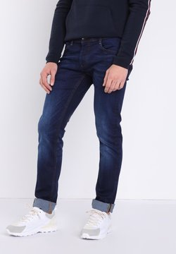 BONOBO Jeans - USED-EFFEKT - Slim fit jeans - blue