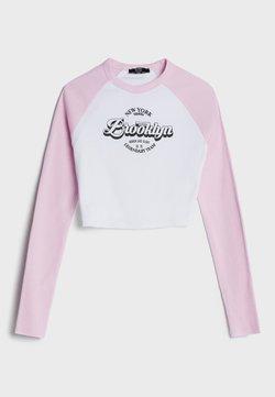 Bershka - Langarmshirt - pink