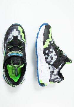 Skechers - MEGA-CRAFT - Sneakers laag - black/blue/lime