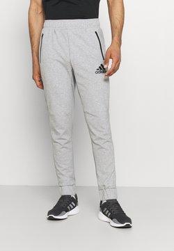 adidas Performance - Jogginghose - medium grey heather/black