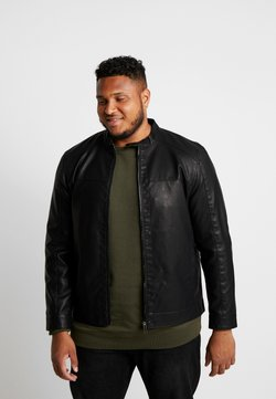 Only & Sons - ONSMIKE RACER JACKET  - Kunstlederjacke - black