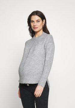 Dorothy Perkins Maternity - STEP HEM JUMPER - Jersey de punto - grey