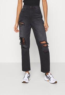 American Eagle - 90'S BOYFRIEND - Jeans baggy - black blaze