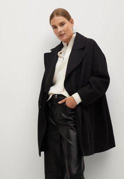 Mango - WILLY - Short coat - schwarz