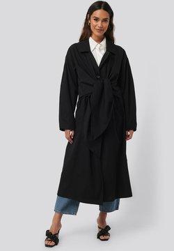 NA-KD - Trenchcoat - black