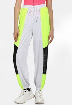 myMo ATHLSR - Jogginghose - neon yellow/black