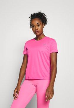 Nike Performance - MILER - Camiseta estampada - pink glow/silver