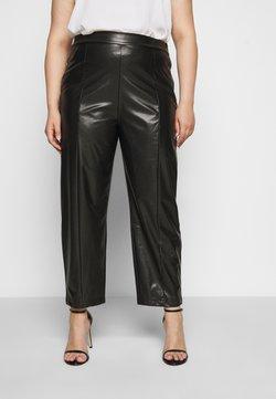 Even&Odd Curvy - Pantalones - black