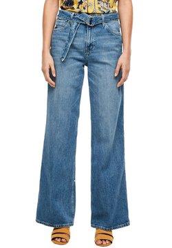 s.Oliver - REGULAR FIT: WIDE LEG - Jeans Bootcut - blue
