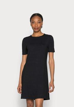 Marks & Spencer London - PUFF SWING - Jerseykleid - black