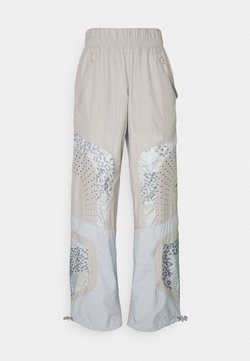 adidas by Stella McCartney - TRAIN PANT - Verryttelyhousut - light browsh
