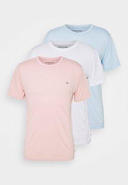 Calvin Klein Golf - 3 PACK - T-Shirt basic - soft pink/white/blue