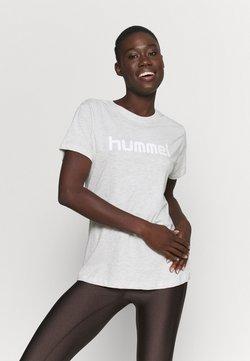 Hummel - HMLGO  - T-shirt print - egret melange