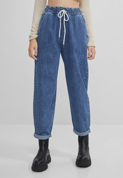 Bershka - Jeans Relaxed Fit - blue