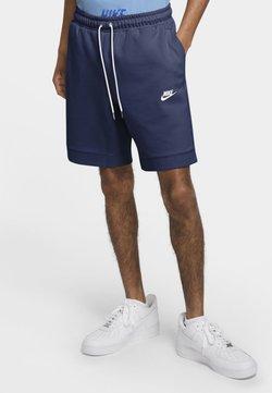 Nike Sportswear - MODERN - Shorts - midnight navy/ice silver/white/white