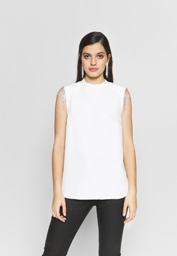 River Island - Bluse - ivory